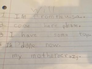 Julia Sims learned a few lessons during her son's first grade year.