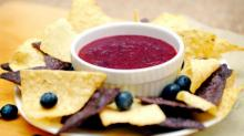 Tequila Dale's Blueberry Salsa