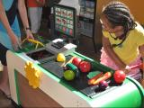 Marbles opens new pretend grocery store, kitchen