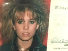 Sloane Heffernan's high school ID card