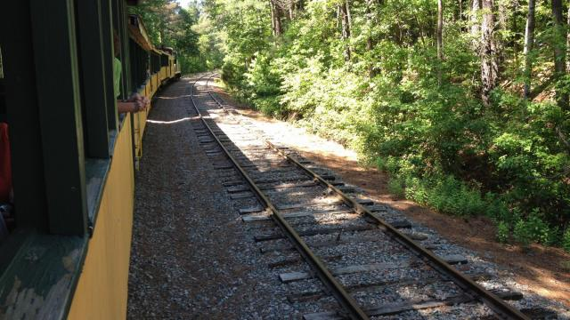 along the tracks in southwestern wake county - Halloween Express Raleigh