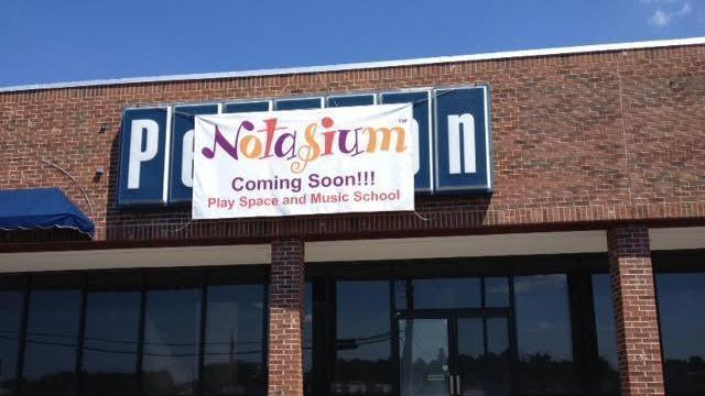 Notasium will take over the building formerly occupied by Pearson Music.