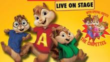 Alvin and the Chipmunks: Live on Stage stops in Raleigh on Oct. 11
