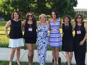 Julia Sims recently returned to Sweet Briar for her college reunion.