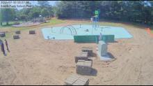 Fuquay-Varina splash pad under construction