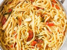 Recipe: Easy one pot spaghetti