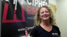 Lynn Horan of Cipher Escape