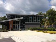 The center is in Research Triangle Park.