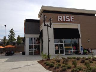 Rise Biscuits and Donuts at Park West Village, Morrisville