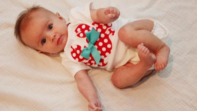 Onesie made by Oh Sew Cute Designs