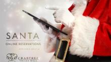 Crabtree Valley Mall offers online reservations to see Santa