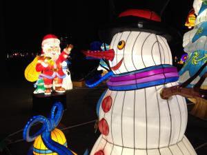 The festival at Booth Amphitheatre in Cary runs Nov. 25 to Jan. 15.