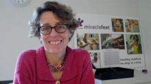 Chesca Colloredo-Mansfeld of miraclefeet