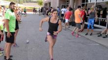 Carolina Camaro competes in event