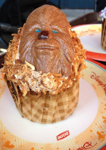 Lots of treats. This cupcake was at Hollywood Studios.