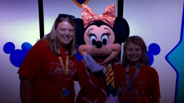 Lori Potter, a Morrisville mom of four, helps families plan Disney vacations.