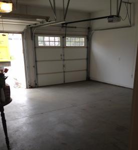 Pristine garage