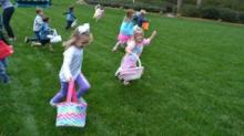 IMAGES: WRAL kids search for Easter eggs