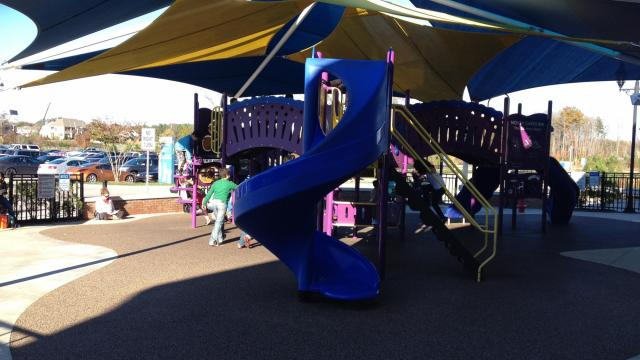 family fun playground tanger outlets offers family fun for little ones wednesday wralcom