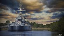 IMAGES: Battleship North Carolina