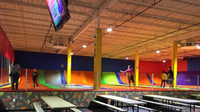Jumpstreet is now open at Cary Towne Center. Courtesy: Facebook