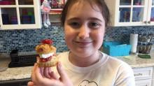 Mini Strawberry Napoleons from Flour Power Kids Cooking Studio