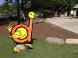 Dippy Duck at Letterland