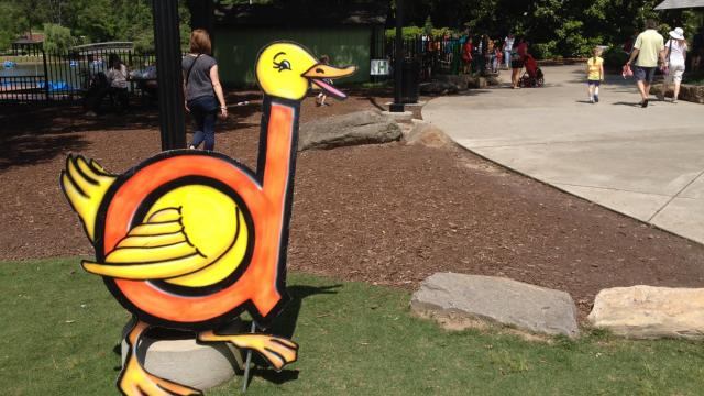 Letterland characters will visit Pullen Park on May 14