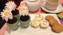 Afternoon tea at American Girl store in Charlotte