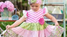 Lilly party dress from Adorables Children's Boutique