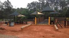 IMAGES: Construction at Sassafras All Children's Playground begins