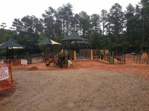 The playground will open in fall 2016.