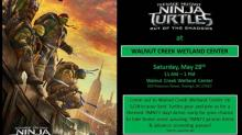 Walnut Creek Wetland Center hosts TMNT event