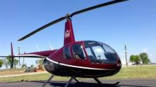 Total Flight Solutions is offering helicopter rides at Hill Ridge Farms