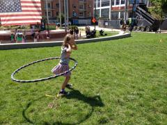 Go Ask Mom's playdate at Midtown Park