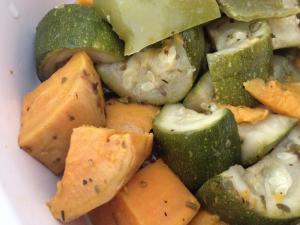 Slow cooker veggies