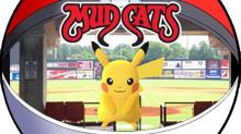 Pokemon Go at the Carolina Mudcats