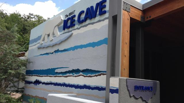 Ice Cave at the N.C. Zoo
