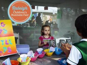 The fair encourages budding entrepreneurs.