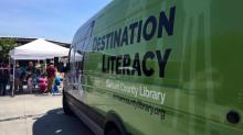As part of Northgate Mall's Discovery Nook events, the Durham County Library Bookmobile will be located outside on the plaza.