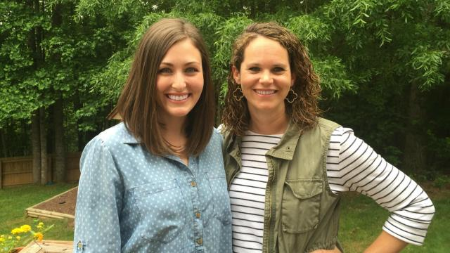 Lindsey Wingo and Lindsay Campbell, owners of the Twice As Nice Kids Consignment Sale