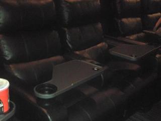 Plush seats at Raleigh Grande
