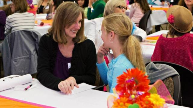The conference, coming to Raleigh, is designed for moms and their middle school girls.