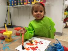 The indoor play space at 3721 Lynn Rd., Raleigh, offers free play, along with coffee, art projects and more for purchase.