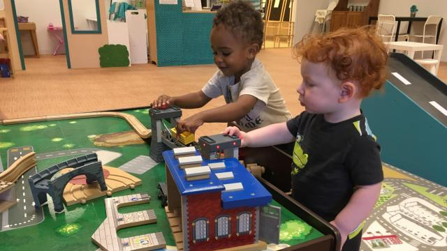 The indoor Raleigh play place at 3721 Lynn Rd. features free play, along with coffee, gently used books, crafts, parties and more for purchase.