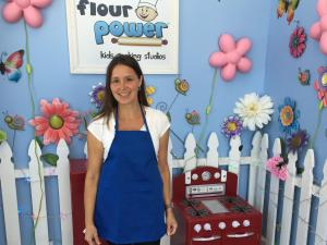Tammy Herr, owner of Flour Power Cary Parkside location