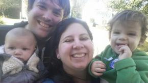 Voting - a family affair