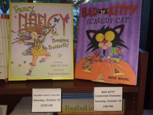 Events Saturday, Oct. 29, at Quail Riddge Books