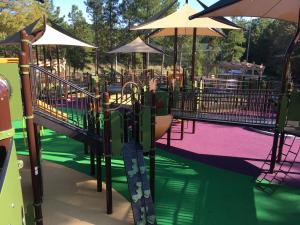 The playground at Laurel Hills Park, 3808 Edwards Mill Rd., Raleigh, opens Nov. 5.