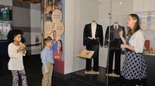 RaeLana Poteat with the N.C. Museum of History talks about the museum's new Discover Your Governors exhibit